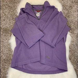 North Face Fleece Size Large Purple